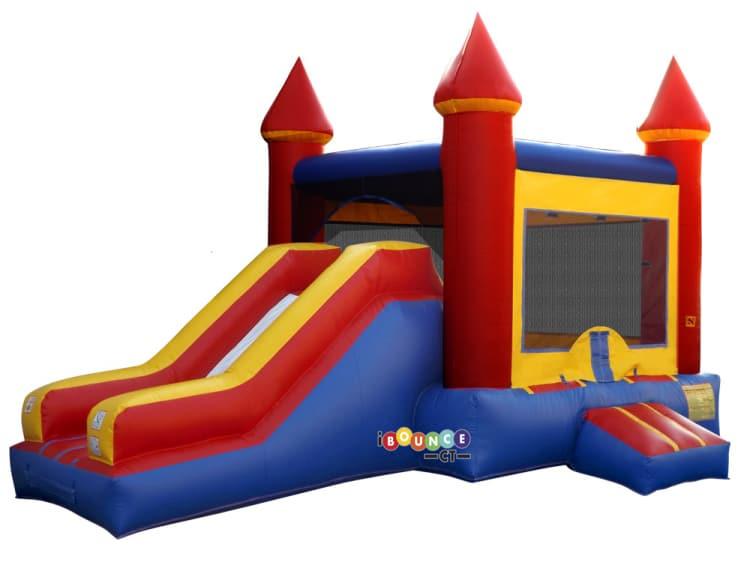 $250 Bounce Castle Combo Single Slide