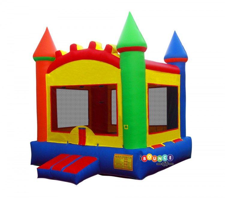 $210 Multi Color Bounce Castle